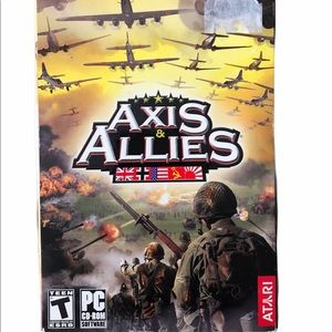 Axis & Allies PC Computer Game Atari Complete